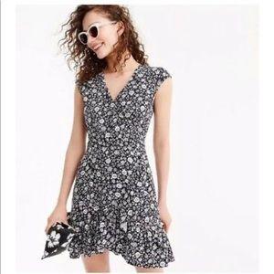 Jcrew mercantile faux wrap dress
